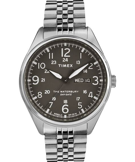 Waterbury Traditional Day Date 42mm Stainless Steel