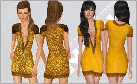 Showtime Dress Edited ~ NyGirl Sims