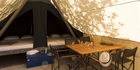 Canadian tent up to 5 people - Huttopia Canada USA