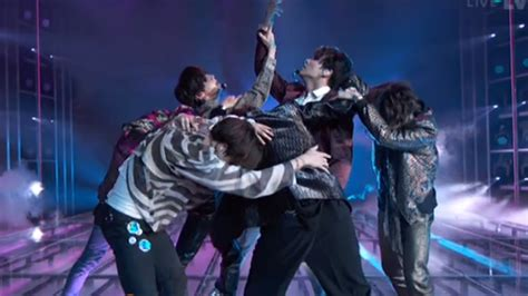 """BTS perform """"Fake Love"""" at BBMAs and we can still hear the"""