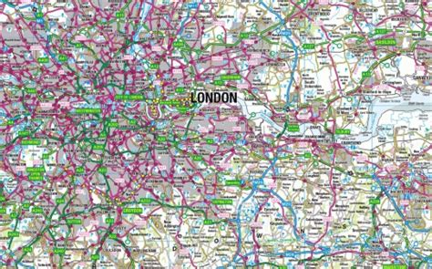 OS 1:250,000 Scale Colour Raster   Getmapping