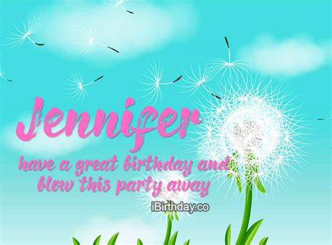 HAPPY BIRTHDAY JENNIFER – MEMES, WISHES AND QUOTES