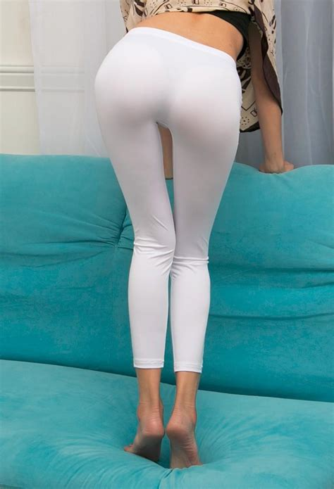 New Sexy Ice Silk Transparent One-Piece Leggings See