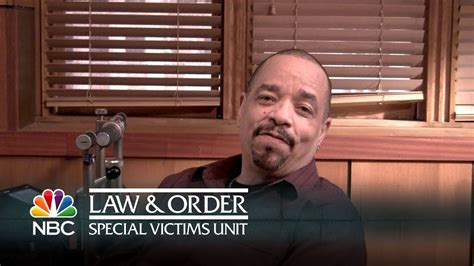 Law & Order: SVU - Ice-T on Playing Detective Fin Tutuola