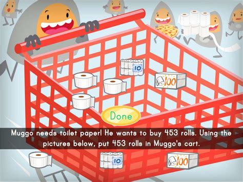 Add and Subtract Toilet Paper Within 1000 Game | Game