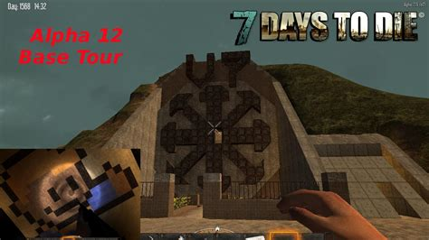 7 Days to Die Alpha 12 Base Tour: Vault 7 - Fallout