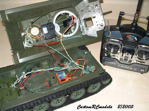 1/16 scale T34/85 prop R/C system upgrade
