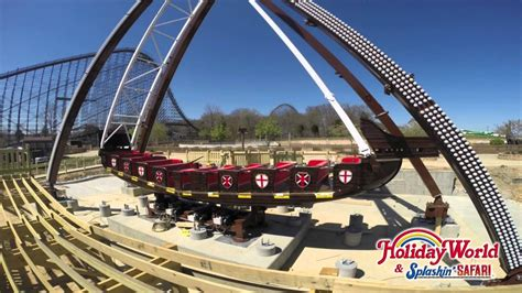 Watch as our ship comes in! Holiday World's Mayflower is