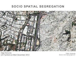 Socio Spatial Segregation: The Problems of Definition and