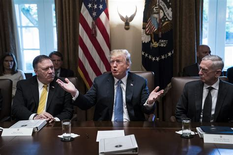 Trump to hold National Security Council meeting on