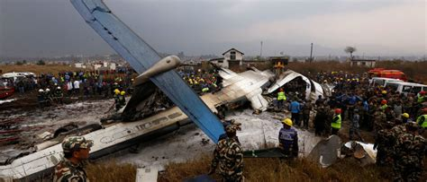 Plane Crash Lands, Catches Fire Killing At Least 49 In