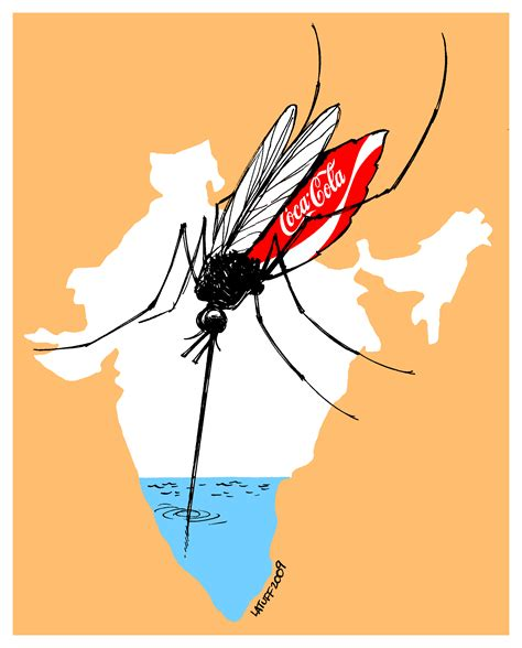 Coca Cola in India (by Latuff) : Indybay