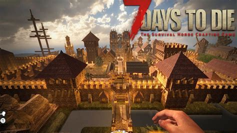 7 Days To Die: THE BIGGEST ZOMBIE BASE EVER! (7 Days To