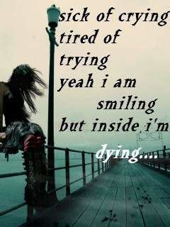But inside I'm dying… - DesiComments