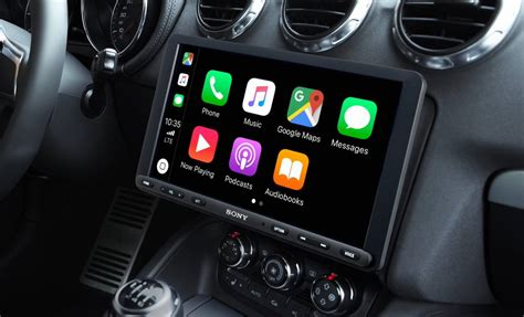 Sony's new CarPlay and Android Auto head-unit has a huge 9