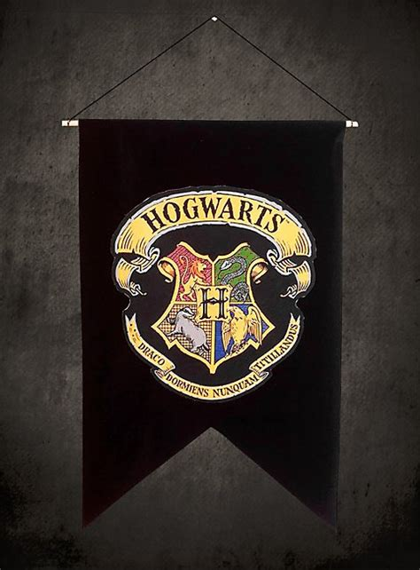 Hogwarts Banner - Official replica from the Harry Potter