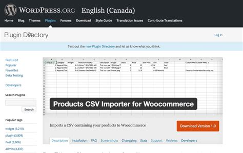 The Simplistics Products CSV Importer for WooCommerce