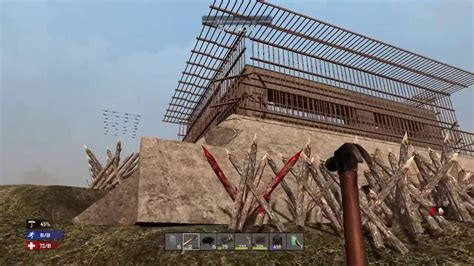 7 Days to Die PS4 Best Base Build? Bunker Hill - YouTube