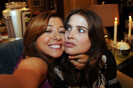 Lily and Robin   How I Met Your Mother Wiki   Fandom