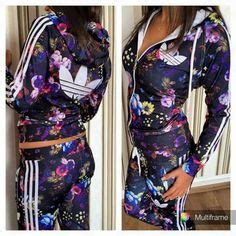 Article CDF00020 #floral #hood #tracksuit Order of this