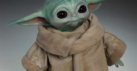 Life-size Baby Yoda is Super Adorable, But Not Very