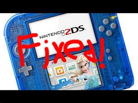 3DS/2DS Touch Screen Issue Fix! - YouTube