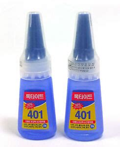 LOCTITE 401 Plastic Rubber Metal Wood Leather Instant