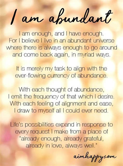 11 Affirmations for Abundance to Make You Feel Supported