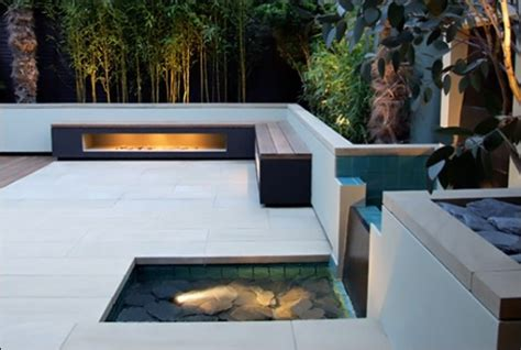 Cool Garden and Roof Terrace Design in Contemporary Style