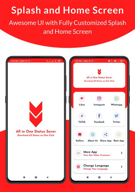 Download - All in One Status Saver - Likee, Whatsapp, FB