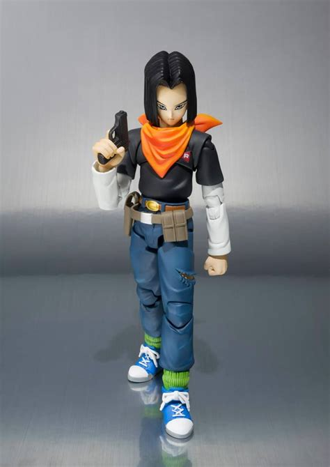 Dragonball SH Figuarts Android 17 Coming to North America