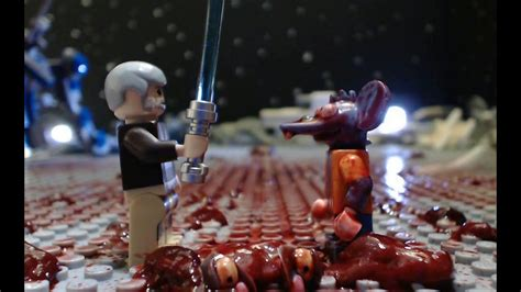 Itchy and Scratchy in STAR GORE - (Lego Simpsons Star Wars