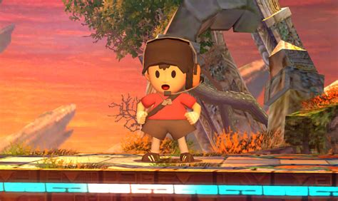 TF2 Scout inspired Ness [Super Smash Bros