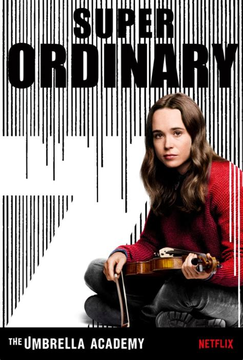 Netflix unveils The Umbrella Academy character posters and