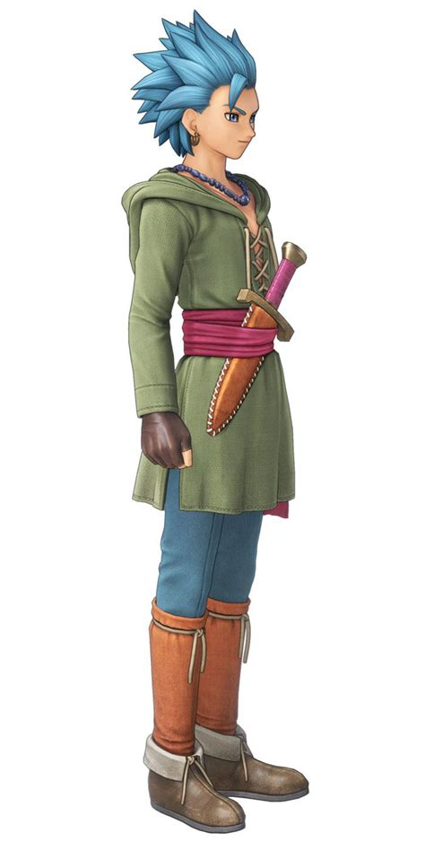 Erik from Dragon Quest XI: Echoes of an Elusive Age #art #