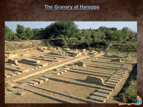 The Great Granary, Harappa   Indus valley civilization