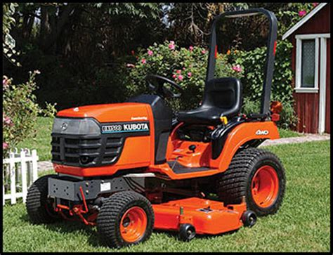Kubota BX1500 - Specifications - Attachments