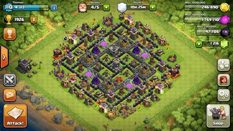 Clash Of Clans: Upgrade Order For Farming In Town Hall 9 (TH9)