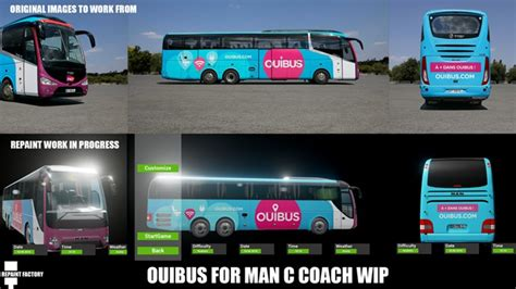 Fernbus – French Wip Ouibus – Simulator Games Mods Download