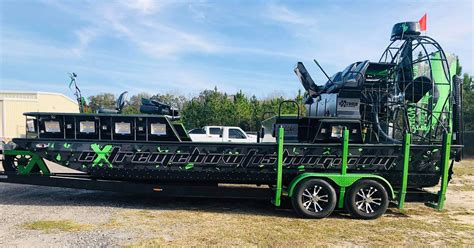 Preowned 2019 22x9 Bowfishing Airboat For Sale