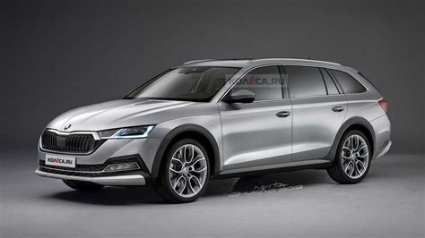 2021 Skoda Octavia Scout Rendering Previews The All-Rounder