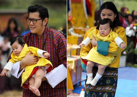 Bhutan's King and Queen share photos of little prince on