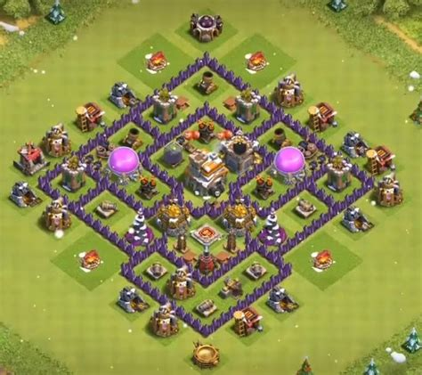 12+ Best Town Hall 7 Hybrid Bases 2019 (New!) | Clash of
