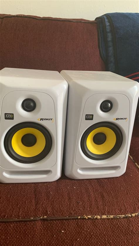 KRK Rokit 5's (White Edition) for Sale in Los Angeles, CA