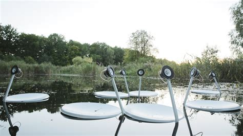 Satellite Swans: Interactive swan sculptures brought to