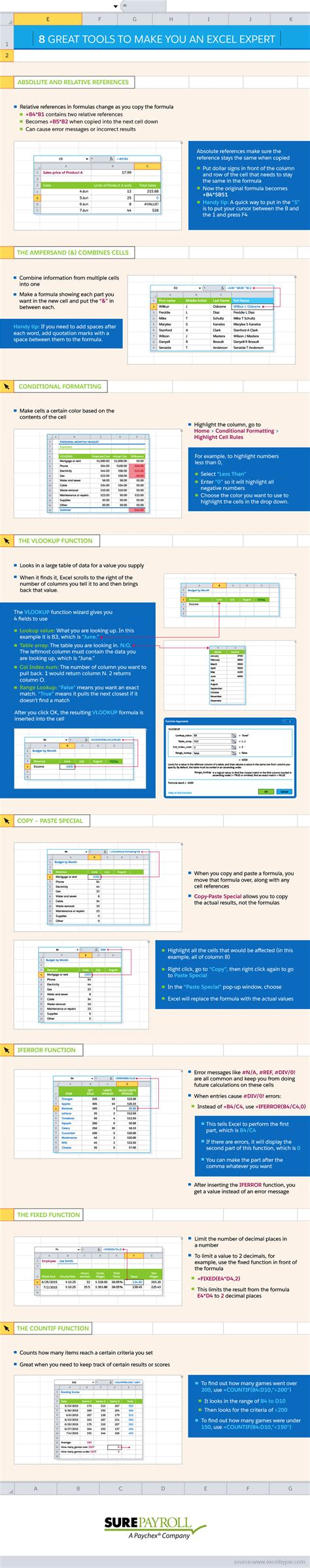 Learn Eight Helpful Microsoft Excel Tricks With This Handy