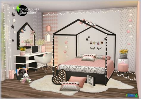 SIMcredible Designs: Day Dream Kids Room • Sims 4 Downloads