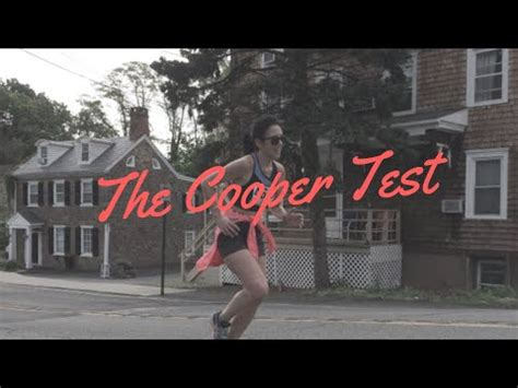 Cooper test vo2max, the cooper test (cooper 1968) is used