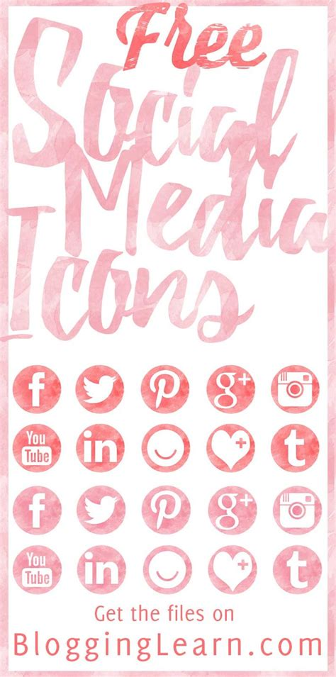 Free Social Media Icons Font and Images | Blogging As I