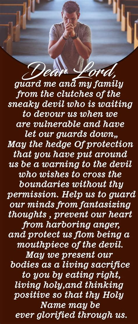 Pray this Powerful Prayer for Protection Against Evil